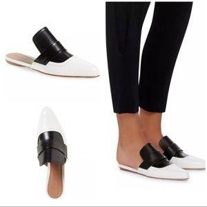 Marni Sabot leather slides mules loafers